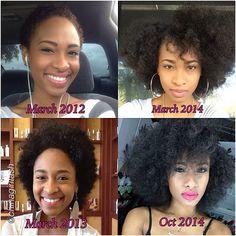 nat hair