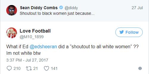 Diddy Tweet 2